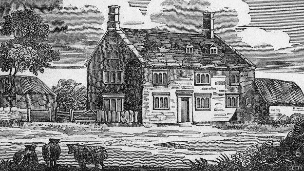 Imagen que contiene edificio, casa, viejo, hecho de madera  Descripción generada automáticamente